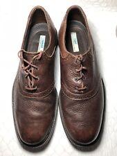 Sebago Men's Brown Leather Lace Up Oxfords Dress Shoes Size-13 M