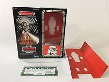 "brand new custom 12"" prototype stormtrooper box + inserts"