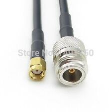1pc N female to RP-SMA male RG58 20cm RF cable Quick USA Shipping