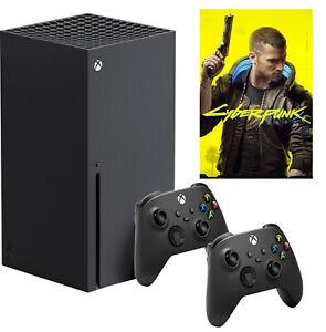 Microsoft Xbox Series X 4K 1TB + Cyberpunk 2077 + 2 Controller #XBOXSXCYPBUN