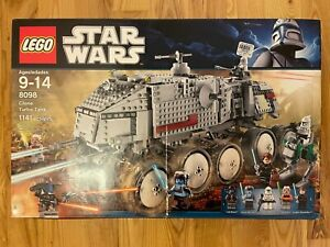 LEGO Star Wars 8098 Clone Turbo Tank Cad Bane - Employee Collection - see desc.