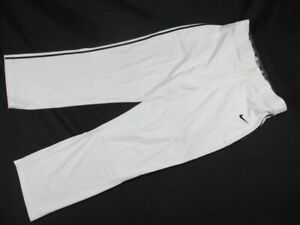 Nike Pants Men's White Baseball New Multiple Sizes
