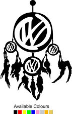 VW Transporter Dream Catcher | Decal Graphic Sticker | T3,T4,T5,T6 | (BB076)