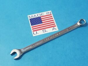 """CLASSIC ARMSTRONG USA 11/32"""" LONG COMBINATION WRENCH 25-211 SHIPS FREE TOOL LOT"""