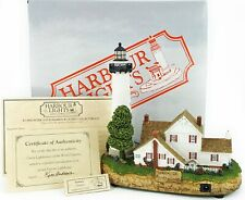 "Harbour Lights Fenwick Delaware Lighthouse #465 Nautical Lighted 6.5"" Figure New"