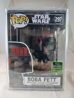 Star Wars Funko Pop - Boba Fett - ECCC Summer Convention Exclusive - No. 297