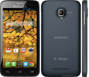 Onetouch Fierce | Prepaid Android Smartphone| 4 GB | T-Mobile | Brand New