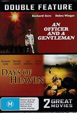 AN OFFICER AND A GENTLEMAN - DAYS OF HEAVEN - RICHARD GERE DOUBLE FEATURE - DVD