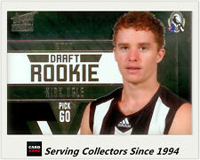 2011 Select AFL Infinity Draft Rookie Card DR34 Kirk Ugle (Collingwood)