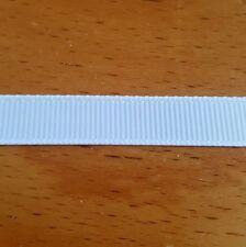 4m ruban gros grain blanc - 10mm