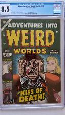 Adventures Into Weird Worlds #23 CGC 8.5 VF+