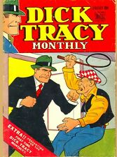 Dick Tracy Monthly Comic on Dvd over 125 comics