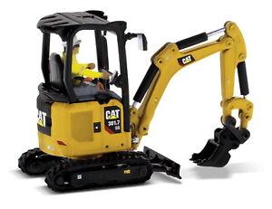 1/50 DM Caterpillar Cat 301.7 CR Mini Hydraulic Excavator Next Generation 85597