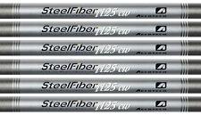 Aerotech SteelFiber i125 5-PW Stiff Flex .355 Taper Tip Iron Shafts NEW