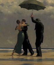 jack Vettriano - Tänzer Smaragdgrün 40x50 cm Kunstdruck