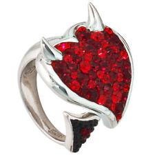 Unbehandelte Echtschmuck-Ringe aus Sterlingsilber Diamant