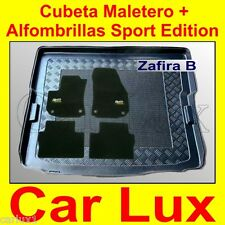 Seau coffre OPEL Zafira B depuis 2005 tapis auto tapis Opel SPORT