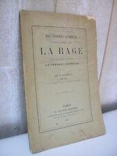 DUBOUE / des progrès accomplis sur la question de la RAGE 1887
