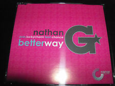 Nathan G Pres Lucky Charm Feat Chance Better Way Australian Remixes CD Single