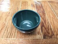Russel Wright Iroquois Casual China Stacking Sugar Bowl Green USA MCM pinch