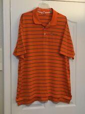 "ADIDAS ClimaCool Orange/Grey Golf Shirt. ""Point O' Woods"". Size 2XL. Dry Cleaned"