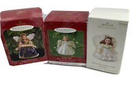 Hallmark Angels  Lot Of 3 Madame Alexander Christmas Ornament 1999 2000 2008
