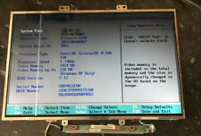 "Working 15.4"" LCD SCREEN with lines HP Compaq Presario C300 C500 G5000 V5000 550"