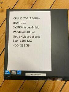 lenovo PC rechner core i5 ,Ram:3GB ,windows:10Pro ,HDD: 232 GB, nividia Geforce