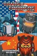TRANSFORMERS ONGOING VOL #2 INTERNATIONAL INCIDENT TPB Mike Costa IDW Comics TP