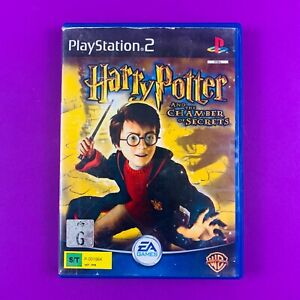 Harry Potter and the Chamber of Secrets (Black Label) - PS2 PAL *Complete*