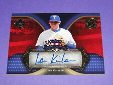 2007 Ultimate IAN KINSLER America's Pastime Autograph Variant / Rangers - Tigers