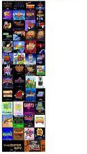 UK-PHONECASEONLINE SNK NEO GEO X CARD SET VOL2 50 GAMES FIRMWARE 3.70 NEW