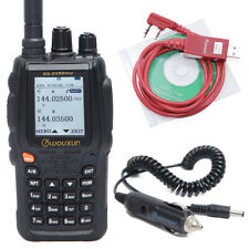 Wouxun KG-UV8D Plus Duplex Cross Band Repeater DTMF 999CH Two Way Radio & Cable