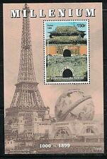 CHAD:1999 SC#806d MNH S/S MILLENIUM Ming dynasty tombs.