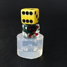 Dice Mold (MD147) Clear Silicone Mold Made In USA