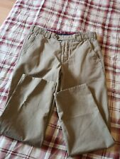 MEYER MENS ROMA CHINOS KHAKI COLOUR ! SIZE 32W 28L ! GREAT CONDITION !