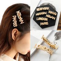 Metal Korean Headwear Rhinestone  Hair Clips Women Pearl Hairpins Hairgrip