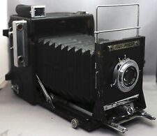 GRAFLEX Speed Graphic VINTAGE Camera POLAROID 110A Rodenstock f/4.7 127mm Lens