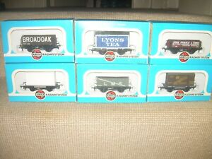 6 x  Airfix Goods Wagons (New/Boxed)