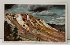 Yellowstone Park Juniper Terrace Haynes Photo Postcard C15