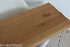 Tischplatte Platte Eiche Massiv Holz NEU Tisch Brett Leimholz 5,5 cm Stark NEU !