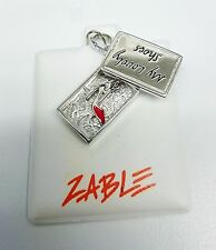 NEW Zable Beads My Lovely Shoe & Shoe Box Charm Fashion Theme LC143 Stlg Silver