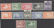 Cayman Islands 1938 set to 2/- lightly hinged