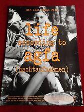 Life according to Agfa Kinoplakat Poster A1, Assi Dayan, Nachtaufnahmen