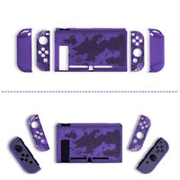 Tempered Glass Screen Protector Film + PC Case Cover for S Switch Game Console