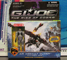 Target Air Assualt Glider G.I.Joe Rise of Cobra Captain Ace Arctic Threat Capt.