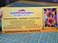 New Quilt Display Solutions - Quilt Display Stand W/Clamps. (F1)