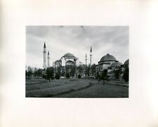 Vintage 1950s Travel Photo ISTANBUL TURKEY The Hagia Sofia (Sophia)