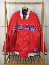 52 Regal Wear Spellout Atlanta Georgia Baseball Bomber Quilted Lined Jacket 3XL