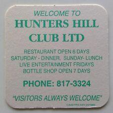 New listing Hunters Hill Club Ltd 8173324 Restaurant Open 6 Days Coaster (B270-83)